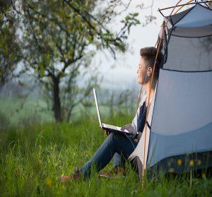 internet au camping le goh velin