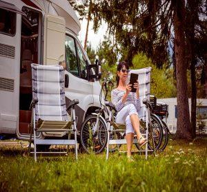 Internet au camping